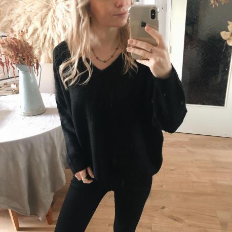 MAILLE LÉANA NOIR